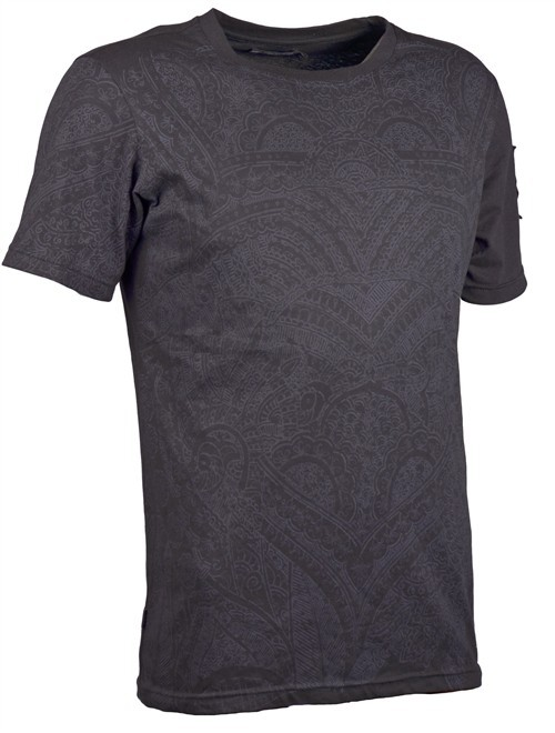 "Psylo t-shirt \\\""henna tee\\\"", noir"