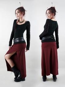 """Pull manches crochet \""""Oroshï\"""", Noir"""