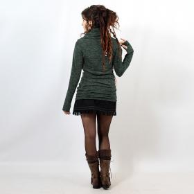 "Pull mi-saison \""Kali\"", Vert lichen"