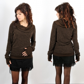 "Pull Witch ""Janjira\"", Marron"