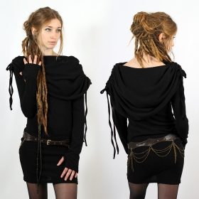 "Robe \""Leina\"", Noir"