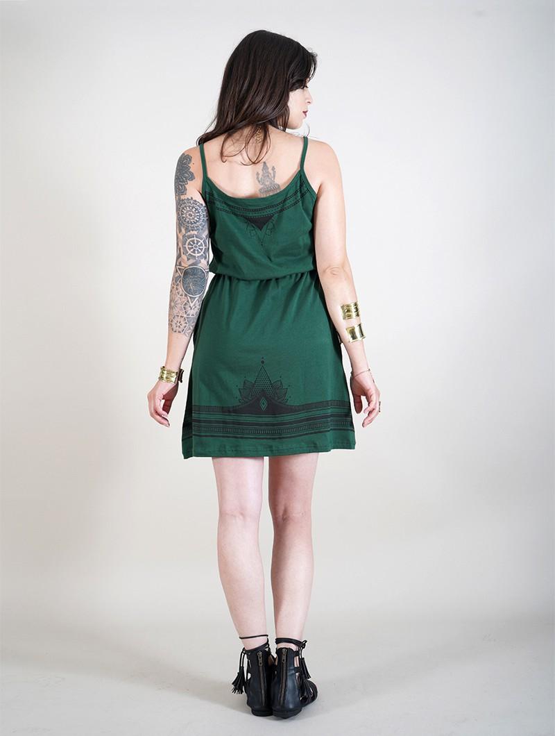 "Robe \""Lotus Oromë\"", Vert canard"