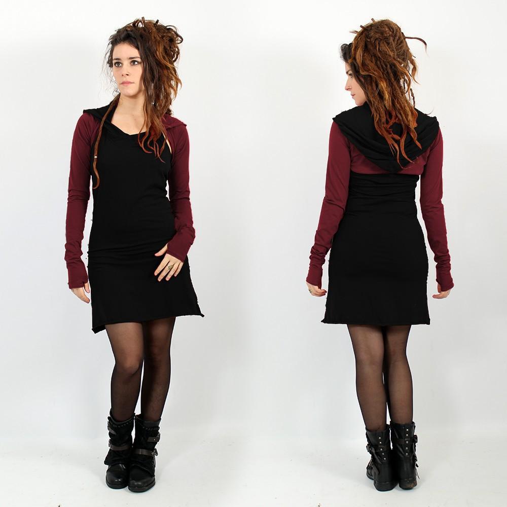 """Robe \""""Lyoö\"""", Noir"""