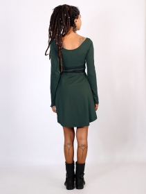 "Robe \""Mystic\"", Vert canard"