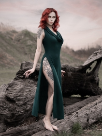 "Robe \""Nephilim\"", Vert canard"
