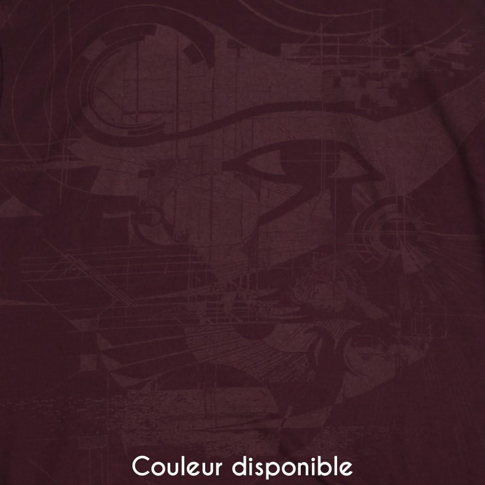 """Robe """"Ra"""", Bordeaux"""