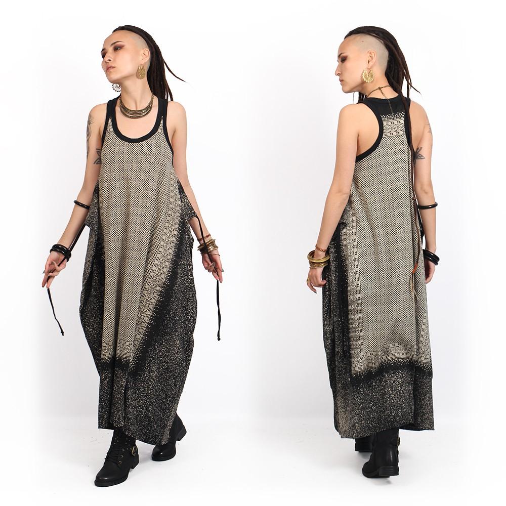 """Robe \""""Shoulder Udaipur\"""", Noir"""