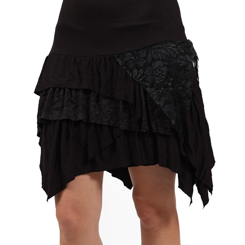 "Robe \\\""tanika\\\"" noir"