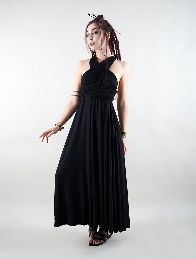 "Robe \""Wakiza\"", Noir"