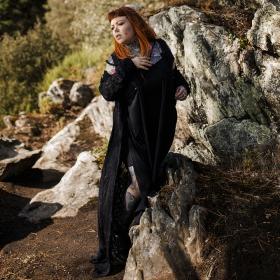 "Robe courte \""Yükäa\"", Noir"