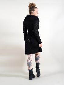 "Robe doublure crochet \""Nouchka\"", Noir"