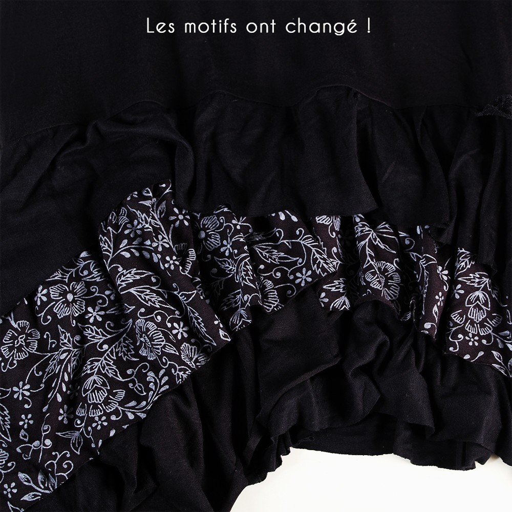"Robe Exception \""Tanika\\\"", Noir"