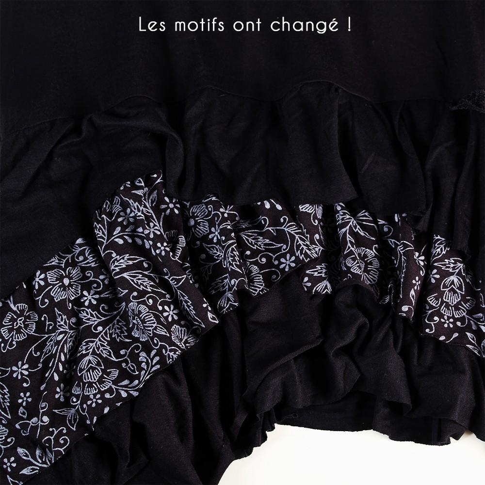 """Robe Exception \\\""""Tanika\\\"""", Noir"""