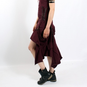 "Robe fairy floss \""steam goth\\\"", prune"
