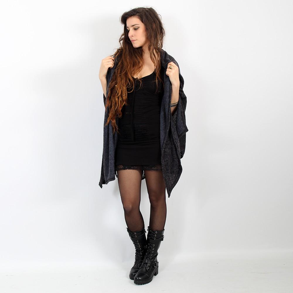 "Robe Liloo \""Jadeite\"", Noir"