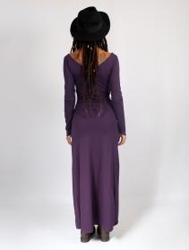 "Robe longue \""Aryäa\"", Violet"