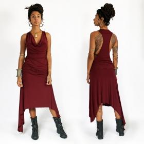 """Robe longue \""""Naäry\"""", Bordeaux"""