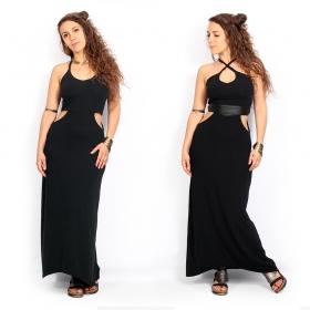 "Robe longue \""Sheherazade\"", Noir"