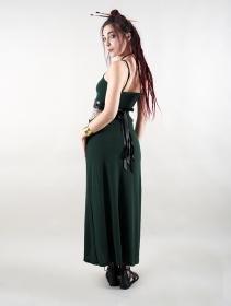 "Robe longue \""Sheherazade\"", Vert canard"