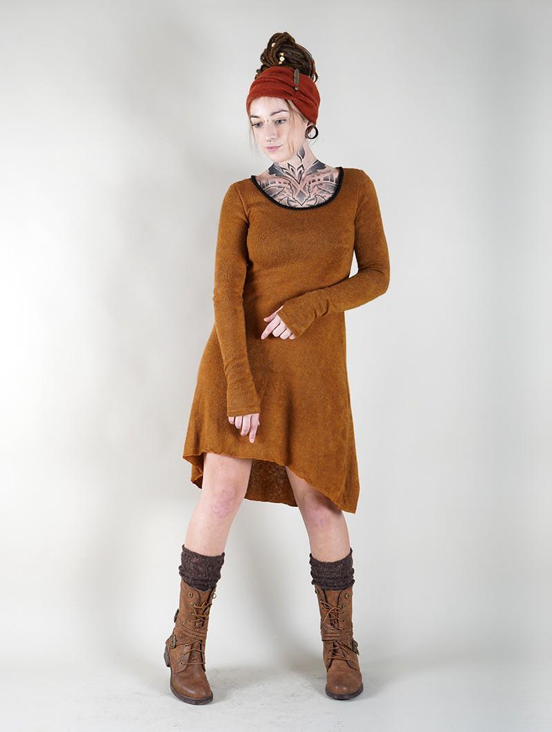 "Robe pull \""Bohemian\"", Rouille"