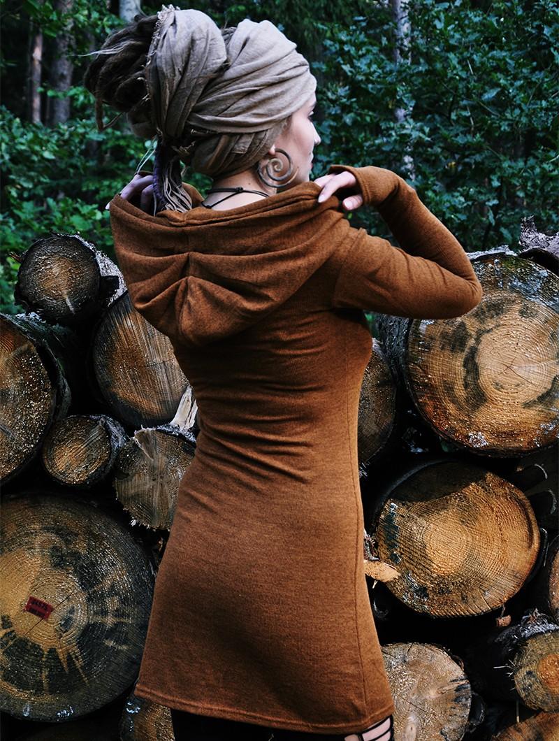 "Robe pull \""Karmäa\"", Rouille"