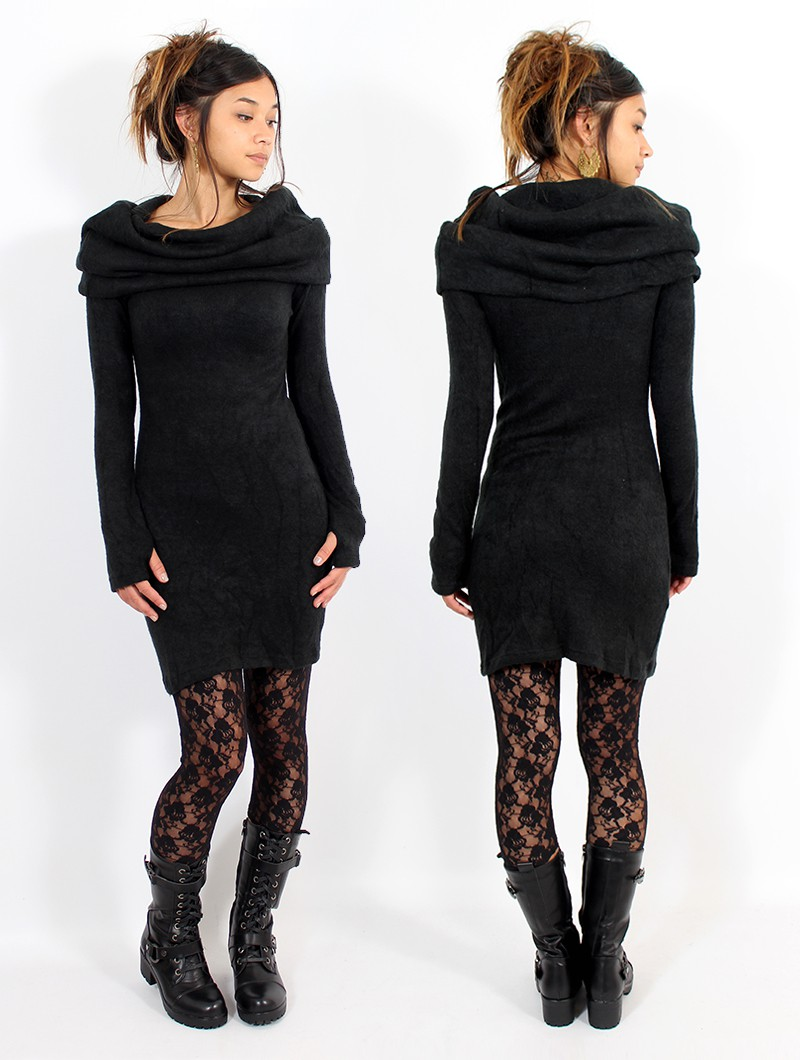 "Robe pull \""Mantra\"", Noir"