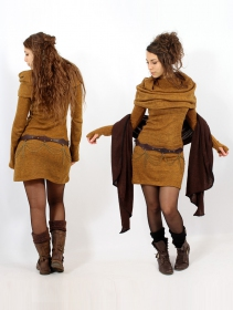 """Robe pull \""""Mantra\"""", Rouille"""