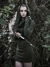 "Robe pull \""Mantra\"", Vert forêt"