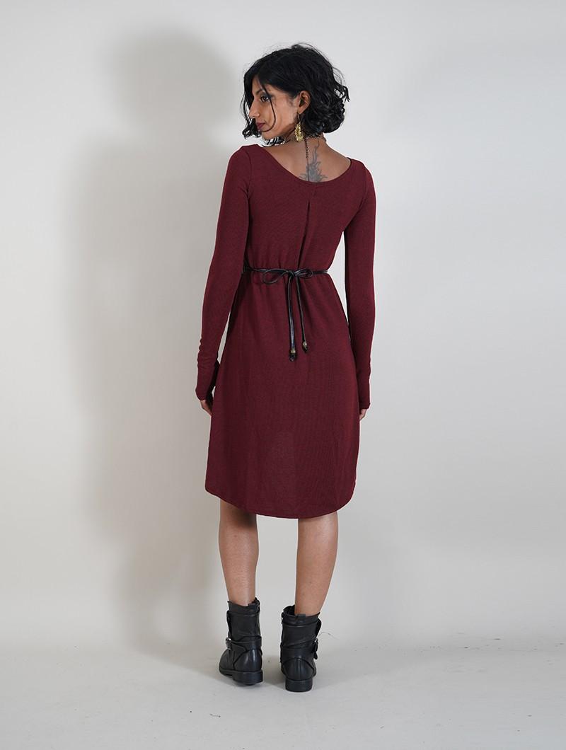 """Robe pull \""""Noäa\"""", Bordeaux"""