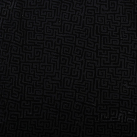 "Robe sans manches Offrandes \\\""Ubud\\\"", Noir motifs Maya"