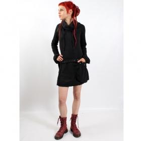 Robe soba dress psylo, noir