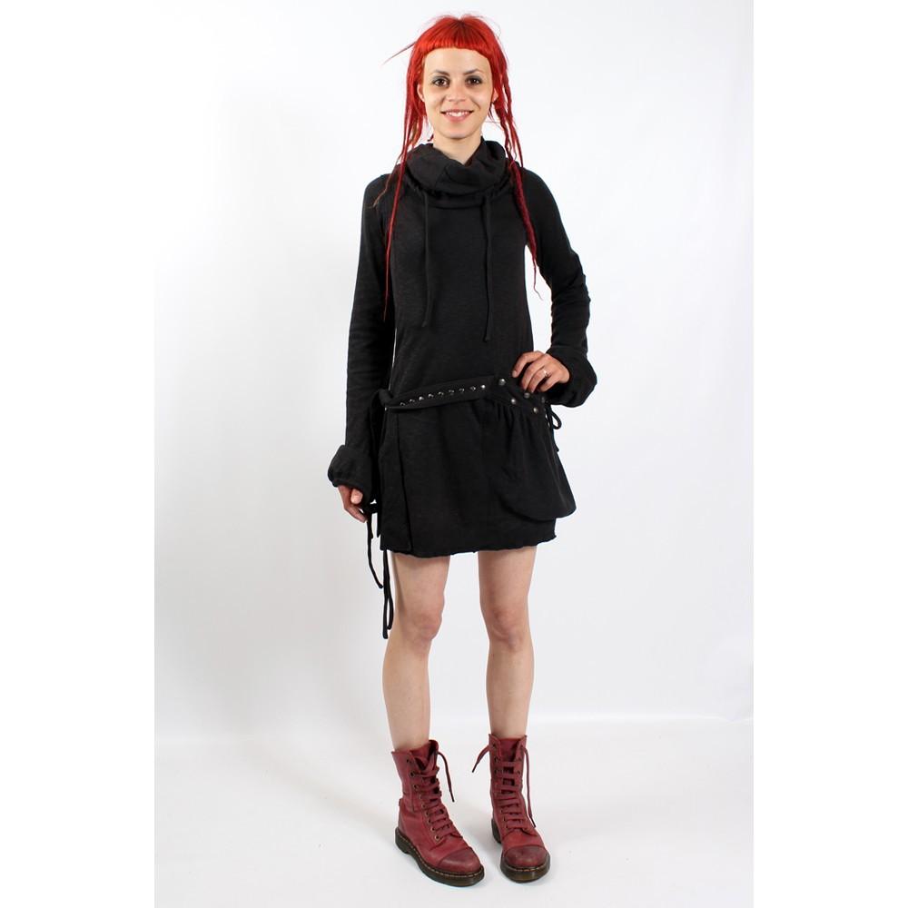 robe soba dress psylo noir taille m femme robes tuniques. Black Bedroom Furniture Sets. Home Design Ideas