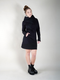 "Robe sweat ""Shona\"", Noir"