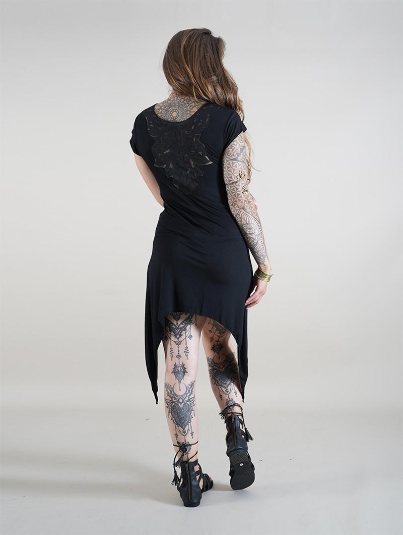 """Robe tunique \""""Lizéa\"""", Noir"""