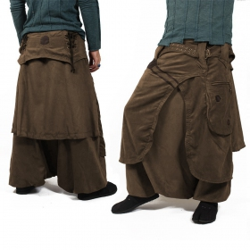 "Sarouel High Clothing ""Dervish\"", Marron"