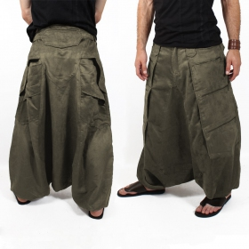 "Sarouel High Clothing \""Sandokhan\"", Kaki"