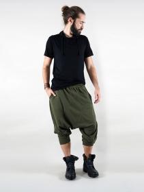 """Sarouel jogging \""""Nizar\"""", Vert kaki"""