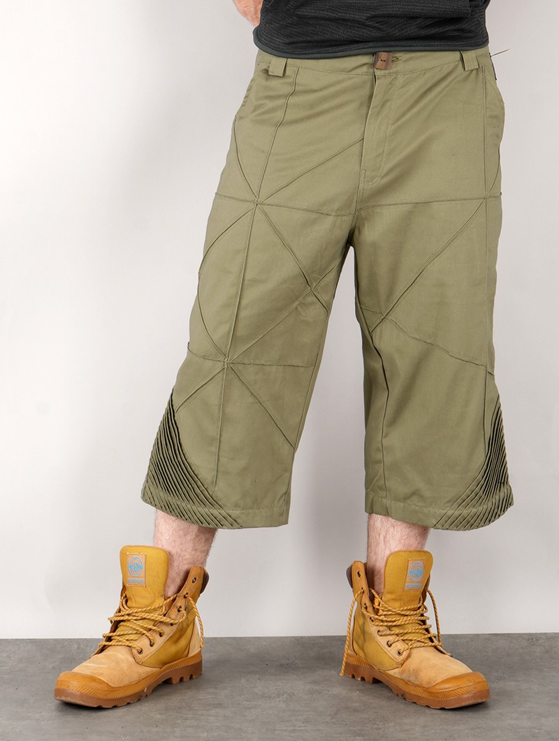 "Short \""Aswan\"", Vert kaki"