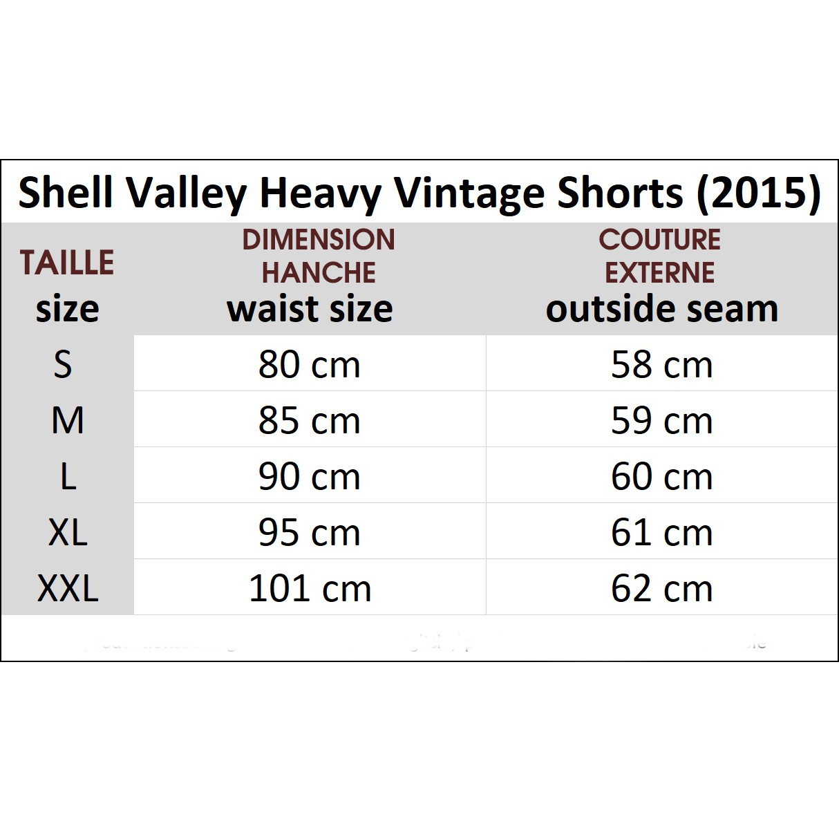 "Short cargo ""Shell Valley\"", Noir"