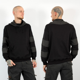 "Sweat ""Arrakis Swastika\"", Noir et gris"
