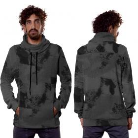 """Sweat à capuche \""""Dusty\"""", Camouflage gris"""