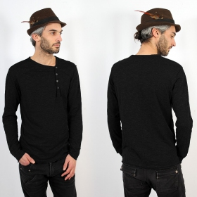 "Sweat fin Psylo ""Off Sweater\"", Noir"