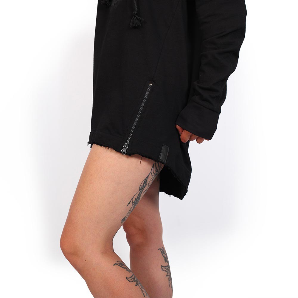 "Sweat fin unisexe ""Altiplano\"", Noir"