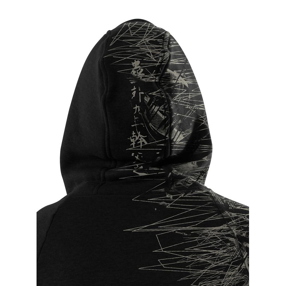 """Sweat zippé \""""Elef\"""", Noir"""