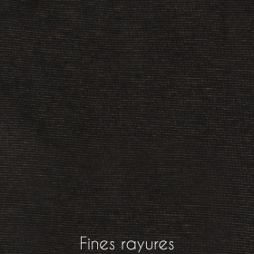 "Sweat zippé \""Infinity\"", Rayé noir et orangé"