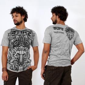 T-shirt \\\'\\\'Bali dragon\\\'\\\', Gris clair