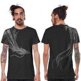 T-shirt \\\'\\\'Phoenix\\\'\\\', Gris charbon