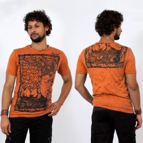T-shirt \\\'\\\'Sanskrit Buddha\\\'\\\', Orange