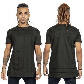 "T-shirt \""Agoria\"", Gris"