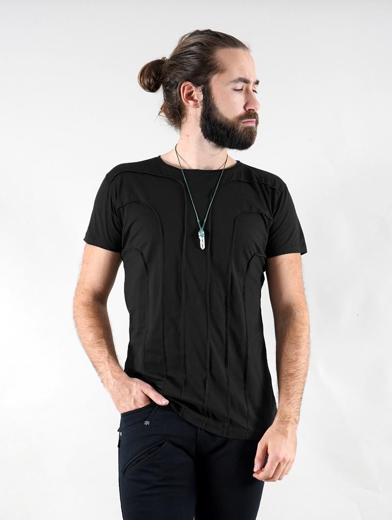 """T-shirt \""""Agoria\"""", Noir"""